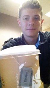 Jackson and his tea