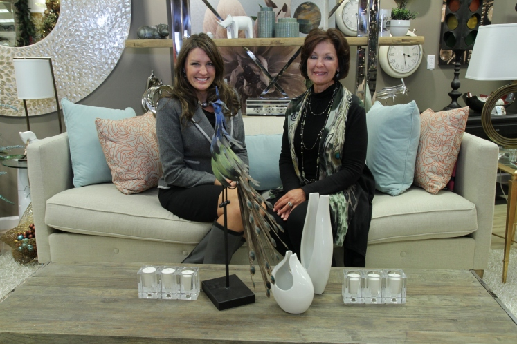 Ivy Tech Northeast alumna Carma Reincke (right) incorporated her interior design consulting business, Choice Designs Inc., in 1979 while living in Texas. Along with Reincke's team of interior designers, which includes her daughter, Jennifer Ford (left), the Fort Wayne-based firm specializes in one-stop residential and commercial design and features a complete line of interior furnishings.