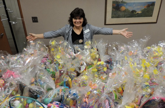 In total, Ivy Tech Northeast will donate 100 baskets to SCAN.