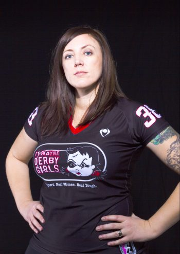 Erin Salyers is the Visual Communications program chair at Ivy Tech Northeast and one of the original members of the Fort Wayne Derby Girls.