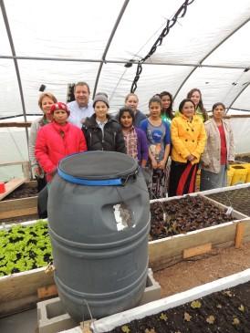 Students at the Slataper Street Farm