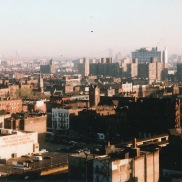 A view of the Bronx from Aytch's childhood residence at James Monroe Houses