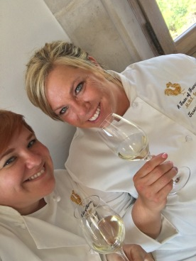 Brenda Zemaitis, at left, and Teresa Thurston are two of the winners of 2016's European Competition. They traveled to France in May to study the culinary arts.