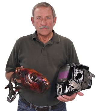 Ivy Tech Northeast alumnus Chuck Smith has crafted more than 30 substantial works of metal art through artistic welding.