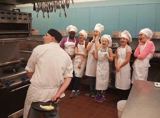 Middle School Cooking Camp
